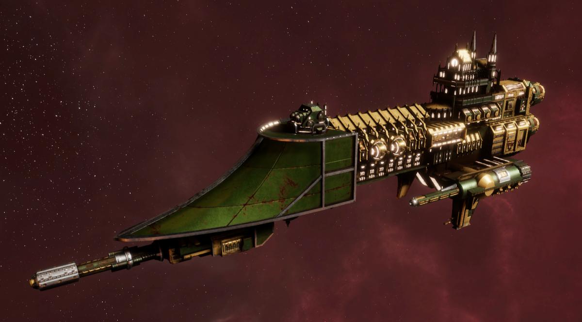 Imperial Navy Frigate - Firestorm (Bakka Sub-Faction)