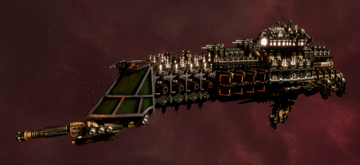 Imperial Navy Battle Cruiser - Mars (Bakka Sub-Faction)