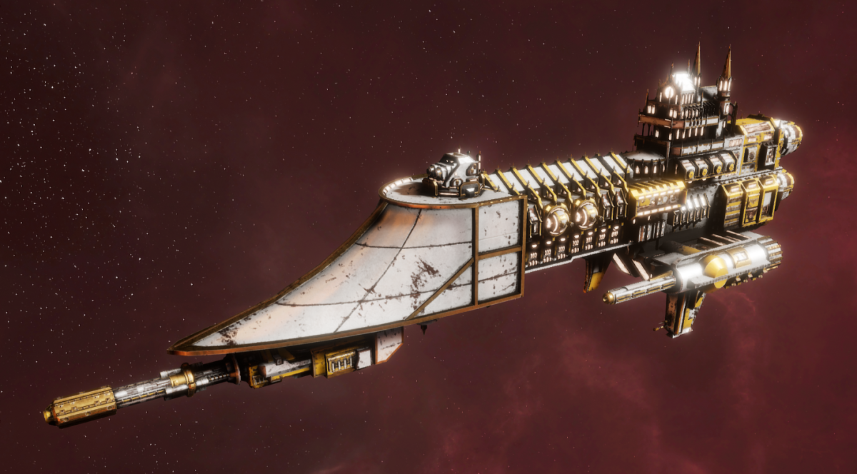 Imperial Navy Frigate - Firestorm (Solar Sub-Faction)