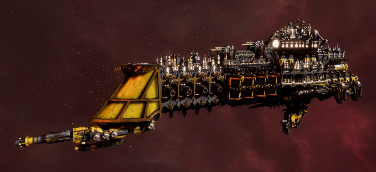 Imperial Navy Battle Cruiser - Mars (Armageddon Sub-Faction)