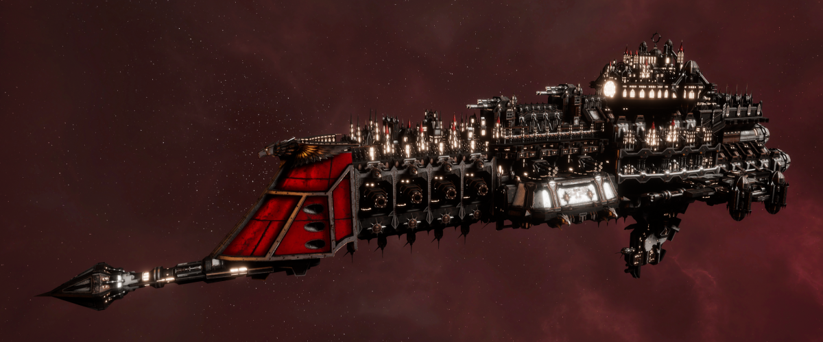 Imperial Navy Battle Cruiser - Armageddon (Koronus Sub-Faction)