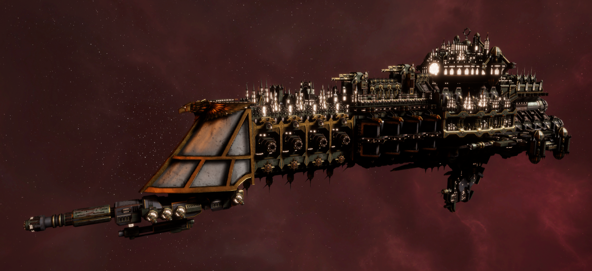 Imperial Navy Battle Cruiser - Mars (Gothic Sub-Faction)