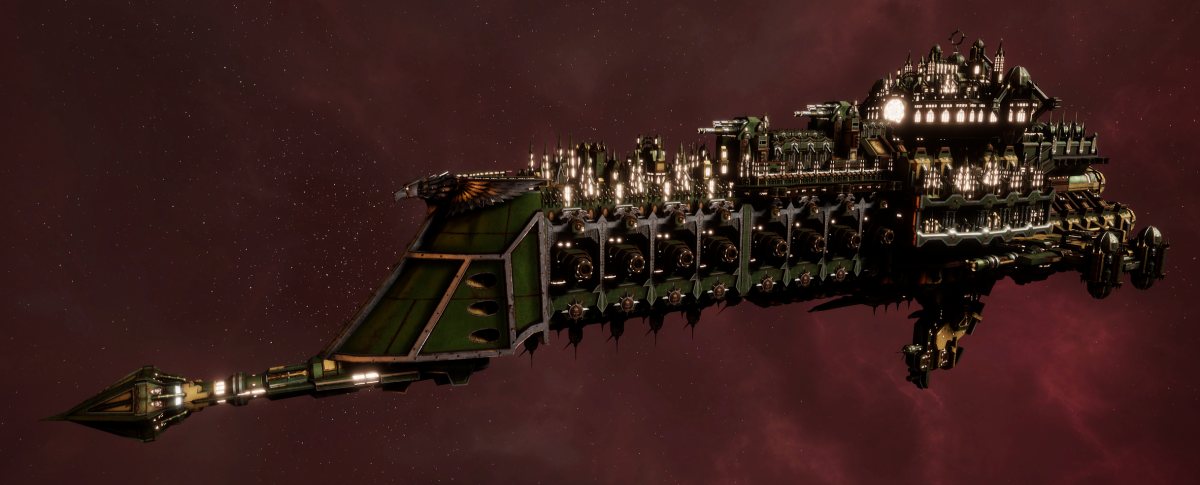 Imperial Navy Battle Cruiser - Overlord (Bakka Sub-Faction)