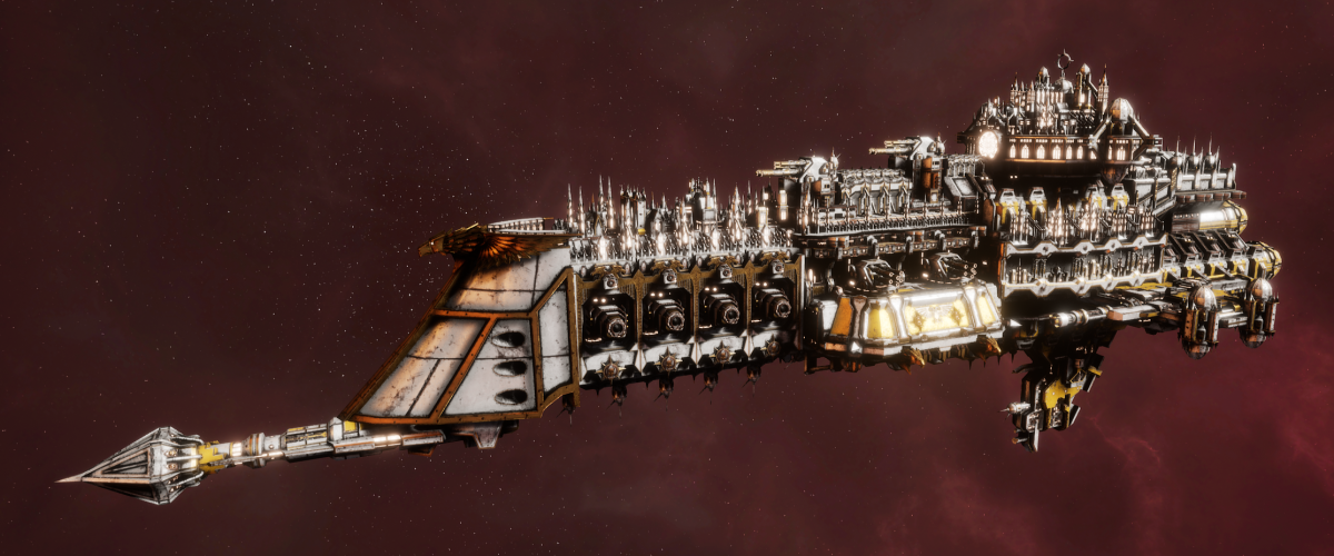 Imperial Navy Battle Cruiser - Armageddon (Solar Sub-Faction)