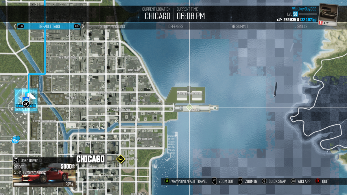 For what it's worth The Crew, another Ubisoft game, has the proper geography.