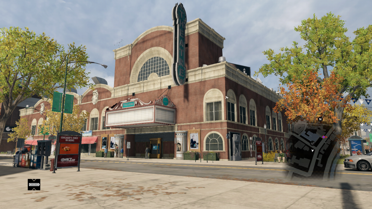 "The Phoebus Theater in ""Watch Dogs"", minus some color changes, it's very similar to Apollo's 2000."