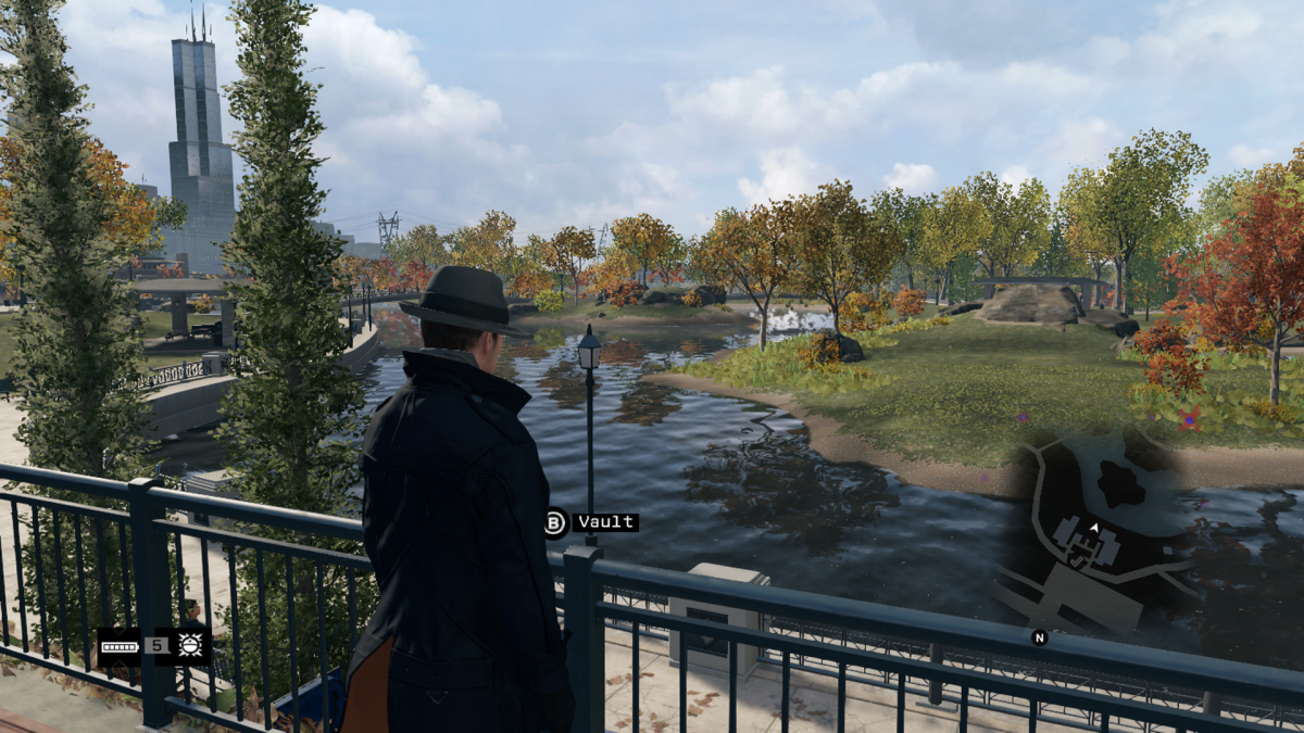 Pretty much the pathways of the in-game gardens use the same paths as the riverside and lakeside. That's a typical copy/paste thing that's done in game development.