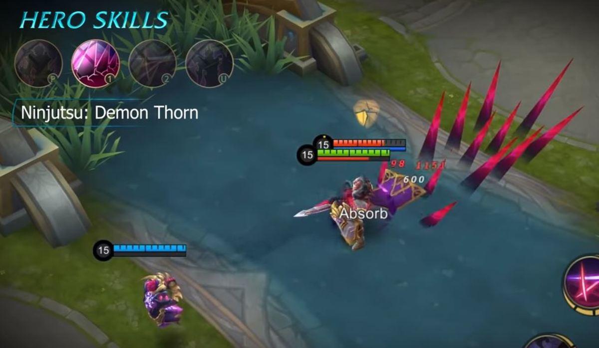 Hanzo - Ninjutsu: Demon Thorn