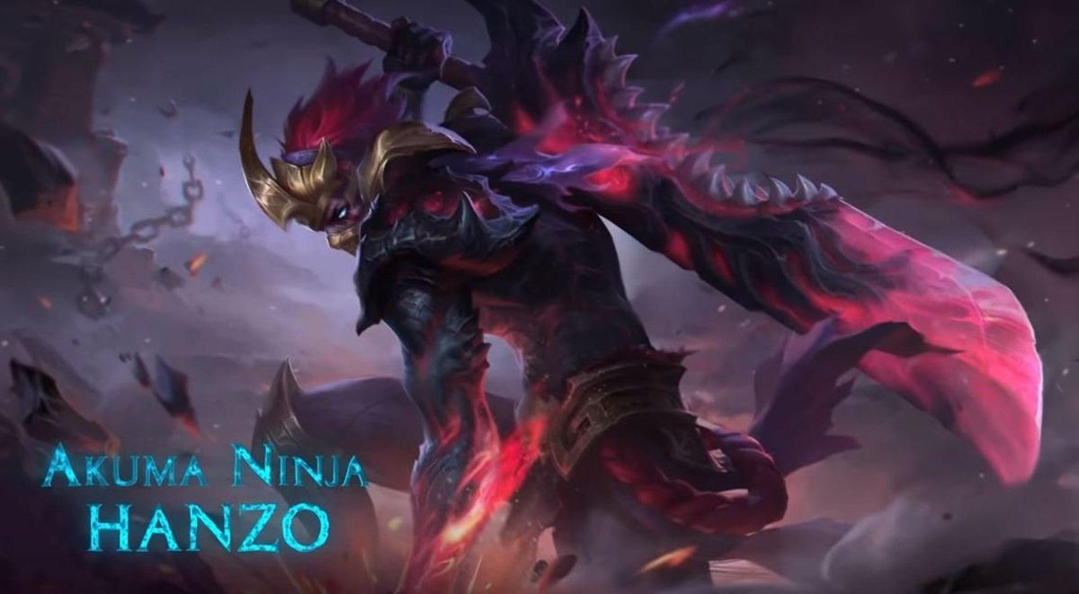 Quot Mobile Legends Quot Akuma Ninja Hanzo Skill Guide Levelskip