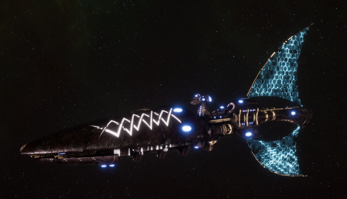 Asuryani Light Cruiser - Prismatic Wraithship [Ulthwe - Eldar Sub-Faction]