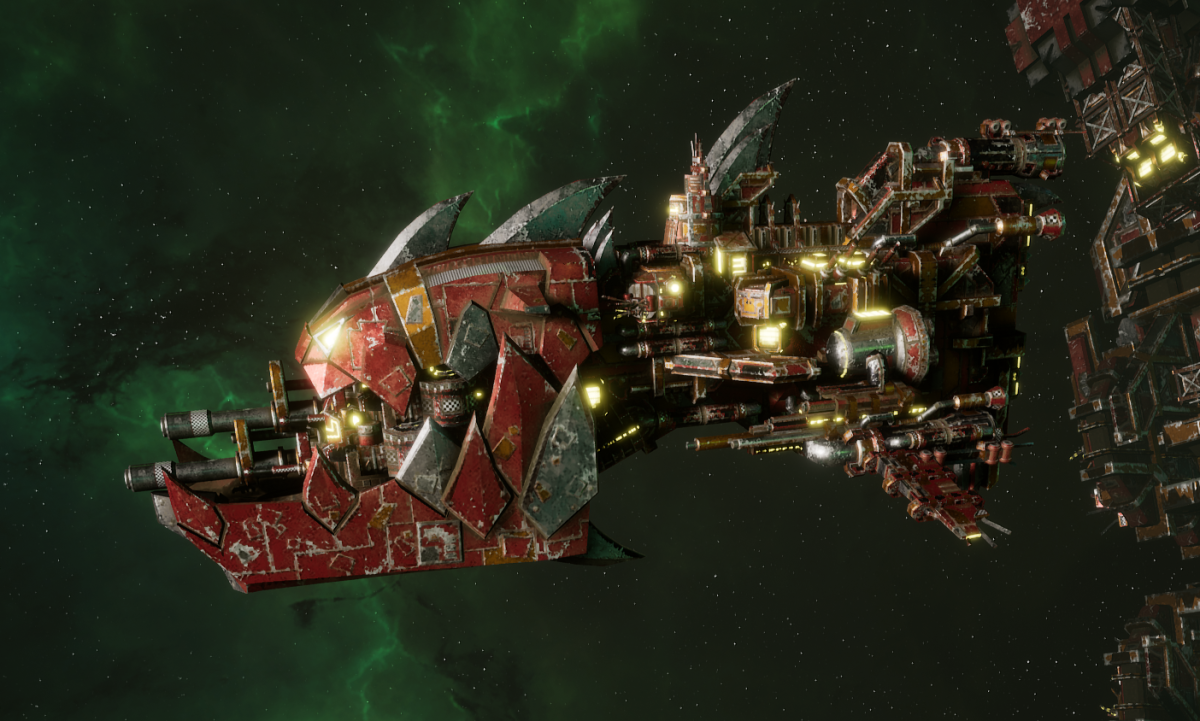 "Ork Gunship - ""Savage"" - [Ork Pirates Sub-Faction]"