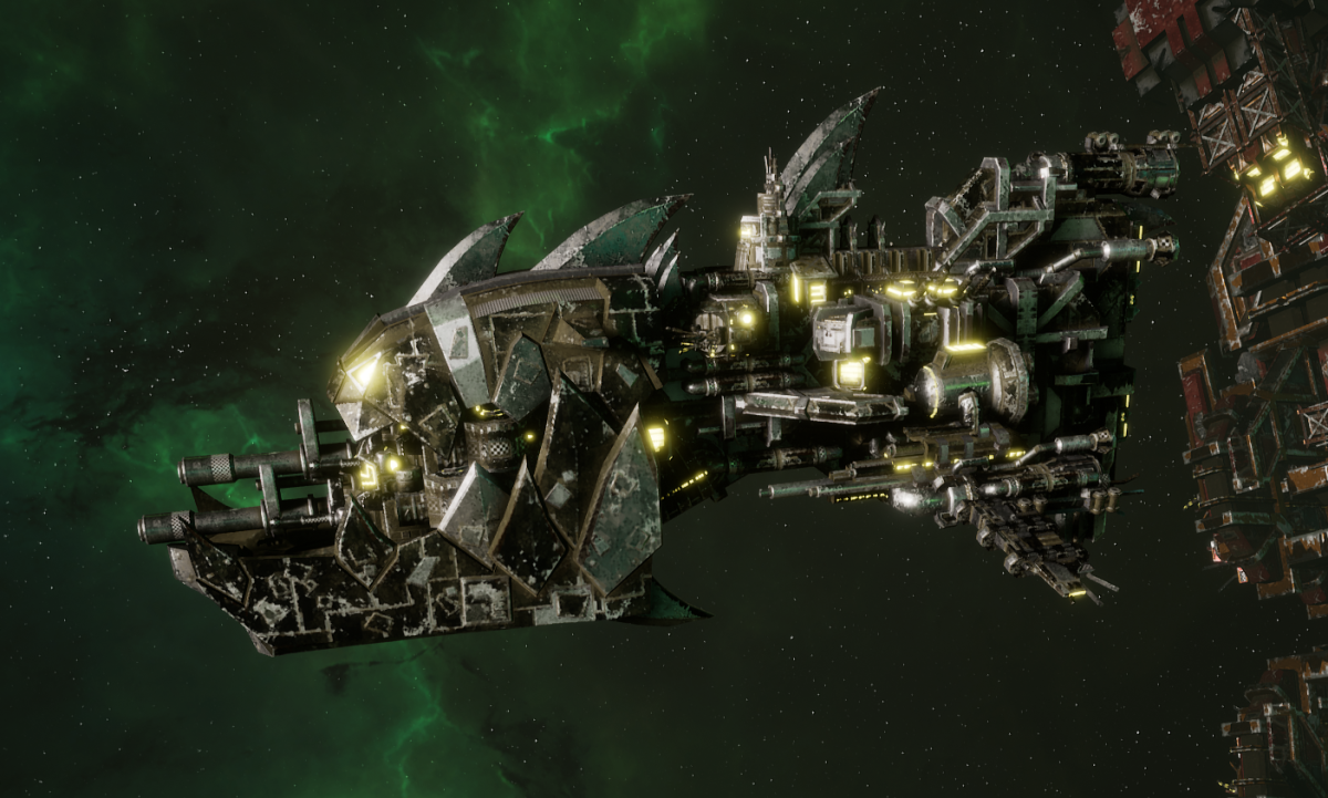 "Ork Gunship - ""Savage"" - [Goffs Sub-Faction]"