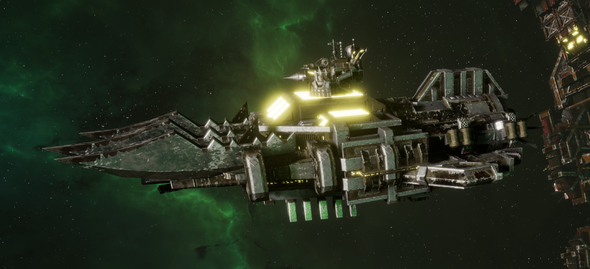 "Ork Ram Ship - ""Brute"" - [Goffs Sub-Faction]"