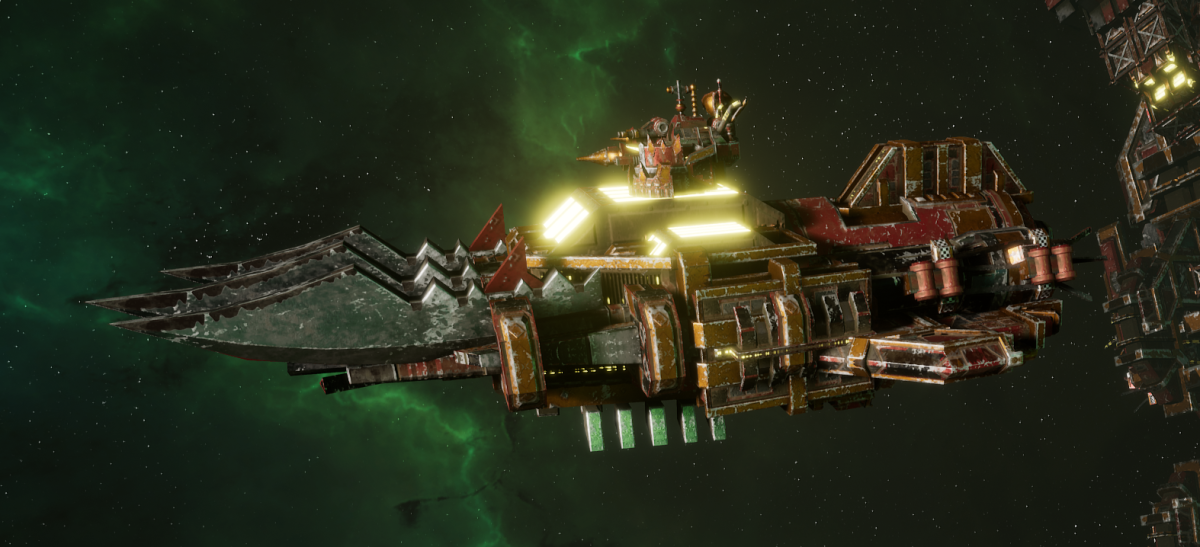 "Ork Ram Ship - ""Brute"" - [Ork Pirates Sub-Faction]"