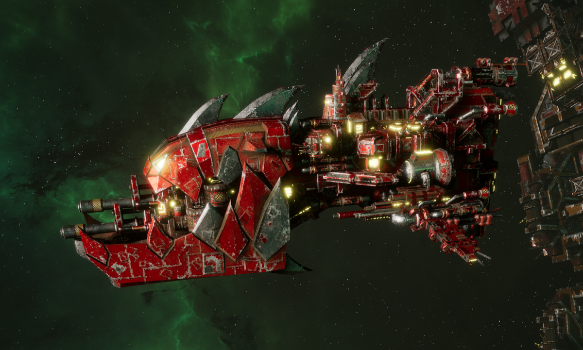 "Ork Gunship - ""Savage"" - [Evil Sunz Sub-Faction]"