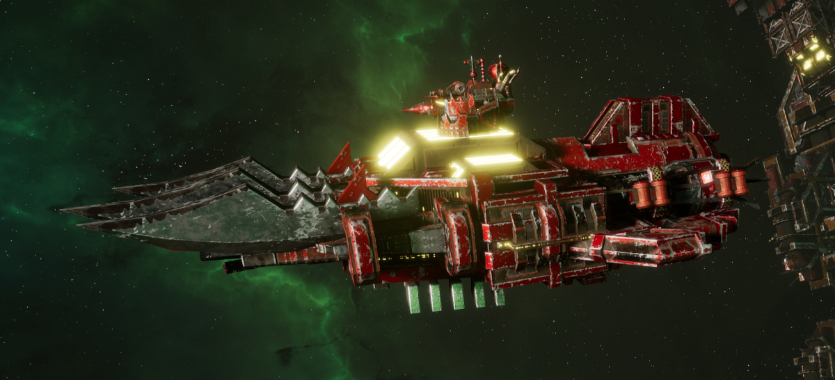 "Ork Ram Ship - ""Brute"" - [Evil Sunz Sub-Faction]"