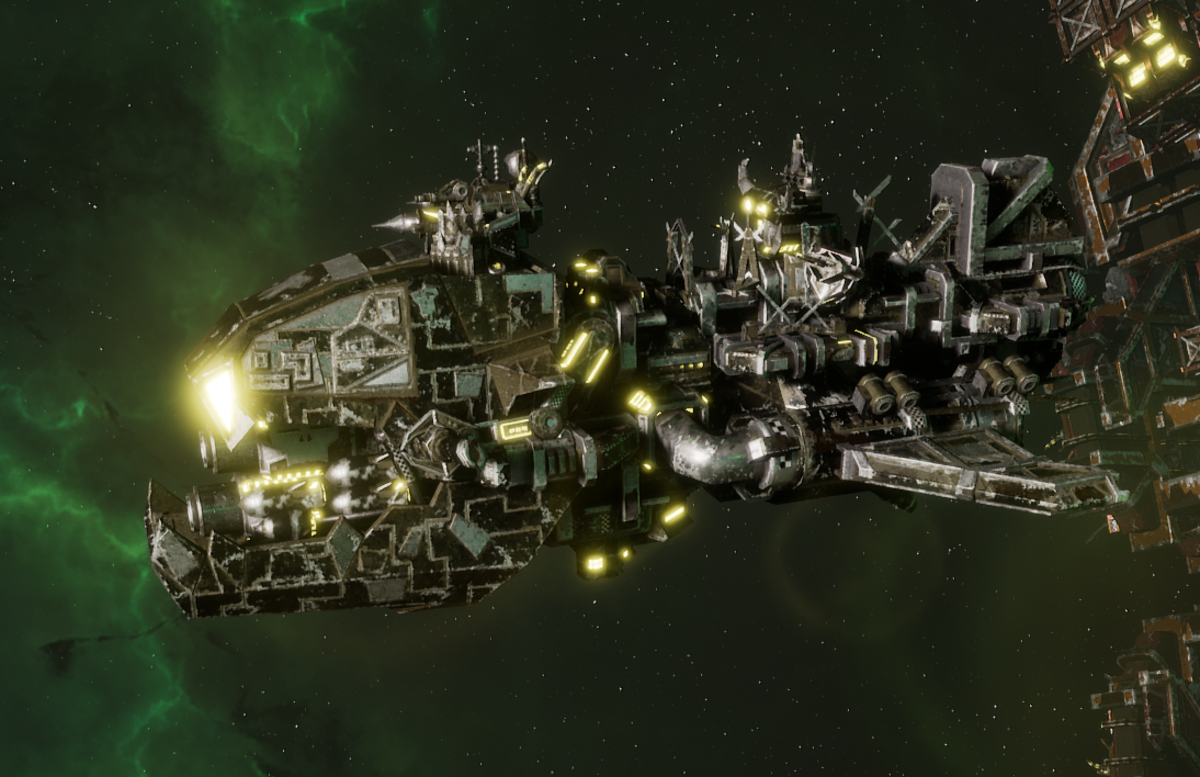 "Ork Attack Ship - ""Ravager"" - [Goffs Sub-Faction]"