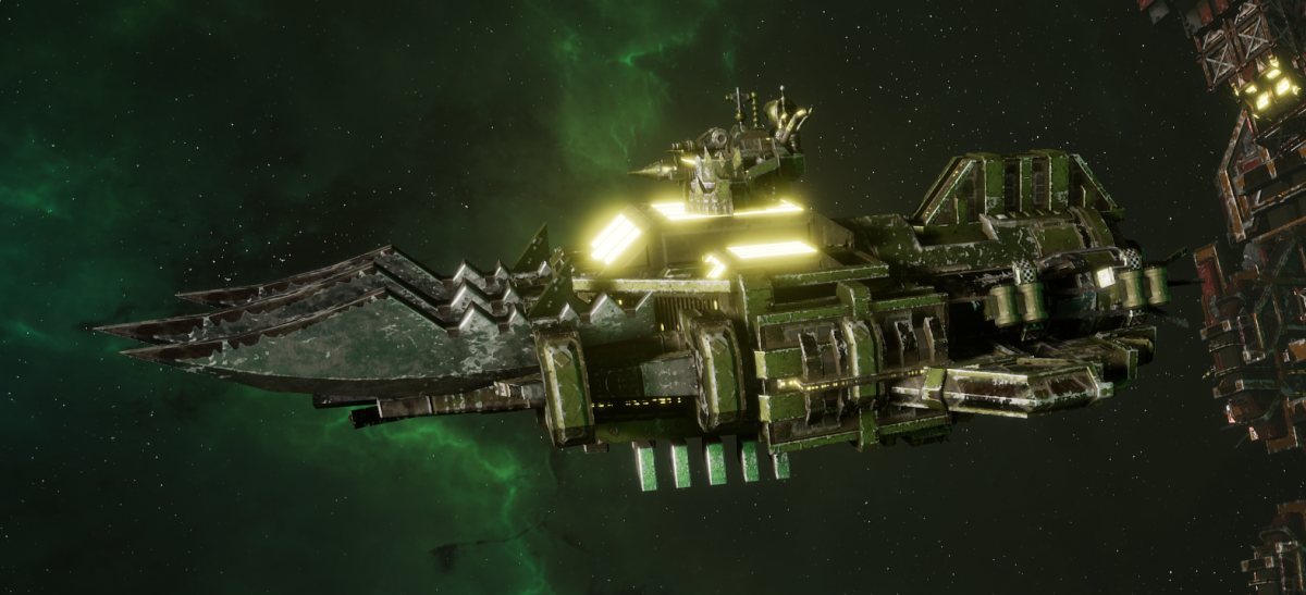 "Ork Ram Ship - ""Brute"" - [Blood Axes Sub-Faction]"