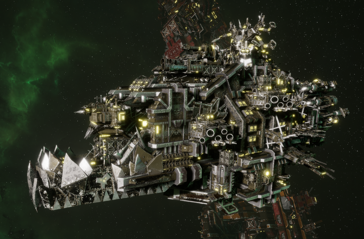"Ork Battleship - ""Deadnot Urd Unki"" - [Goffs Sub-Faction]"