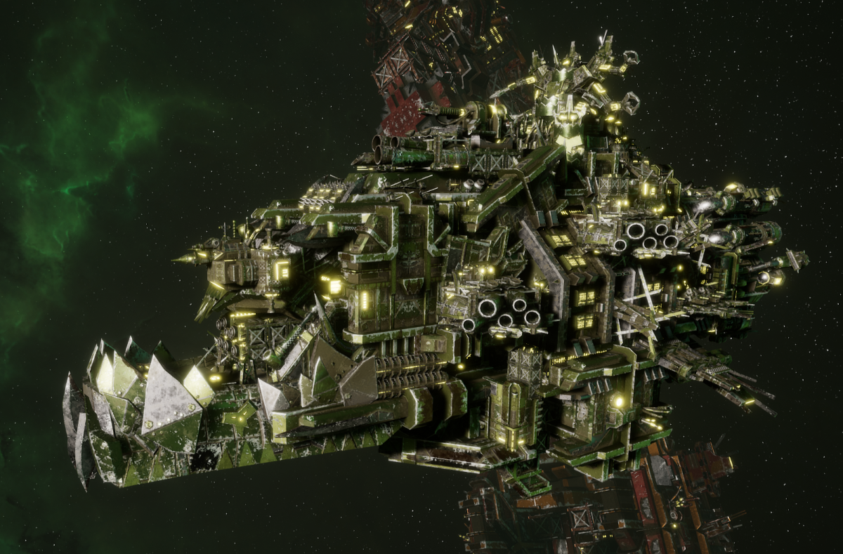 "Ork Battleship - ""Deadnot Urd Unki"" - [Blood Axes Sub-Faction]"