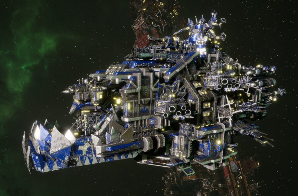 "Ork Battleship - ""Deadnot Urd Unki"" - [Death Skullz Sub-Faction]"