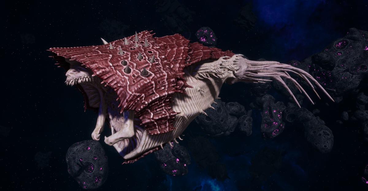 "Tyranid Light Cruiser - ""Corrosive Projectile Voidprowler"" - [Kraken Sub-Faction]"