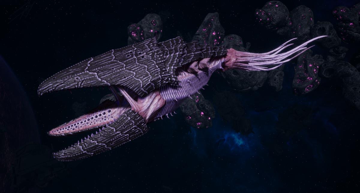 "Tyranid Light Cruiser - ""Bio Clutch Voidprowler"" - [Hydra Sub-Faction]"