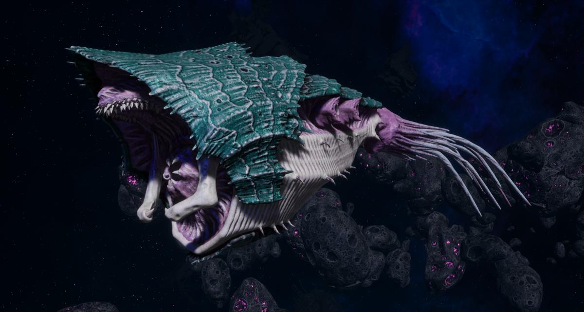"Tyranid Light Cruiser - ""Bio Strangler Voidprowler"" - [Tiamet Sub-Faction]"