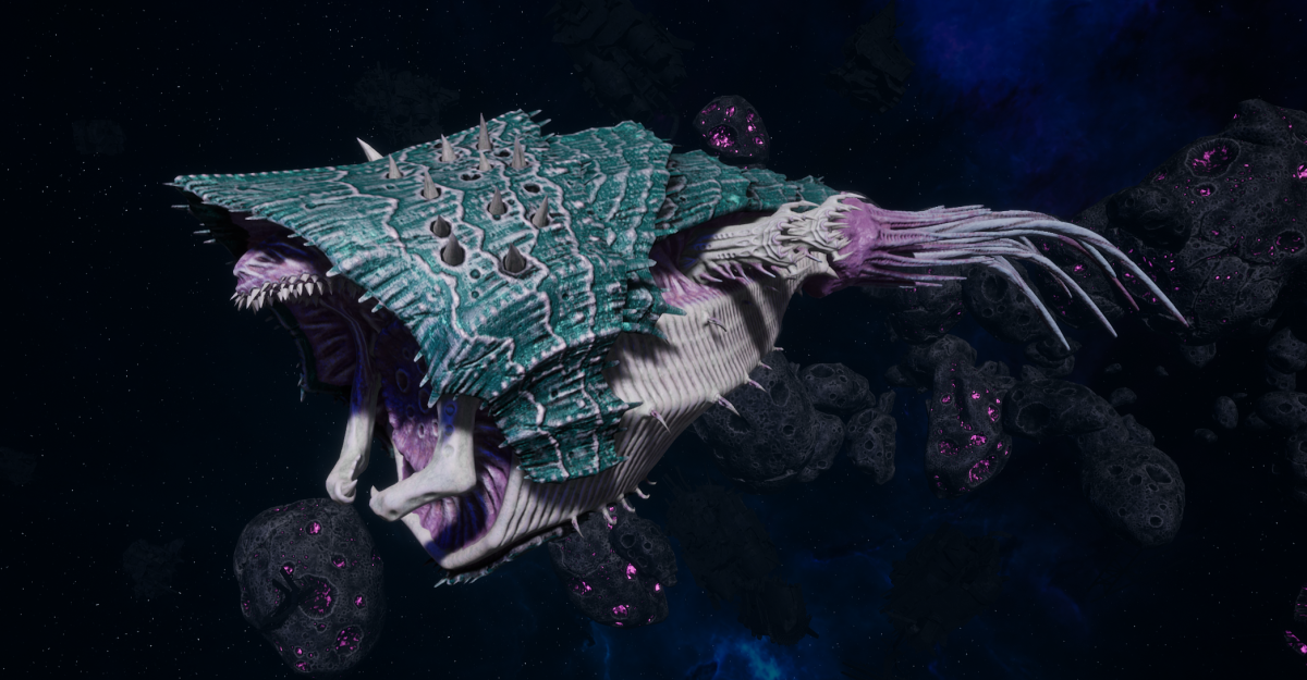 "Tyranid Light Cruiser - ""Corrosive Projectile Voidprowler"" - [Tiamet Sub-Faction]"