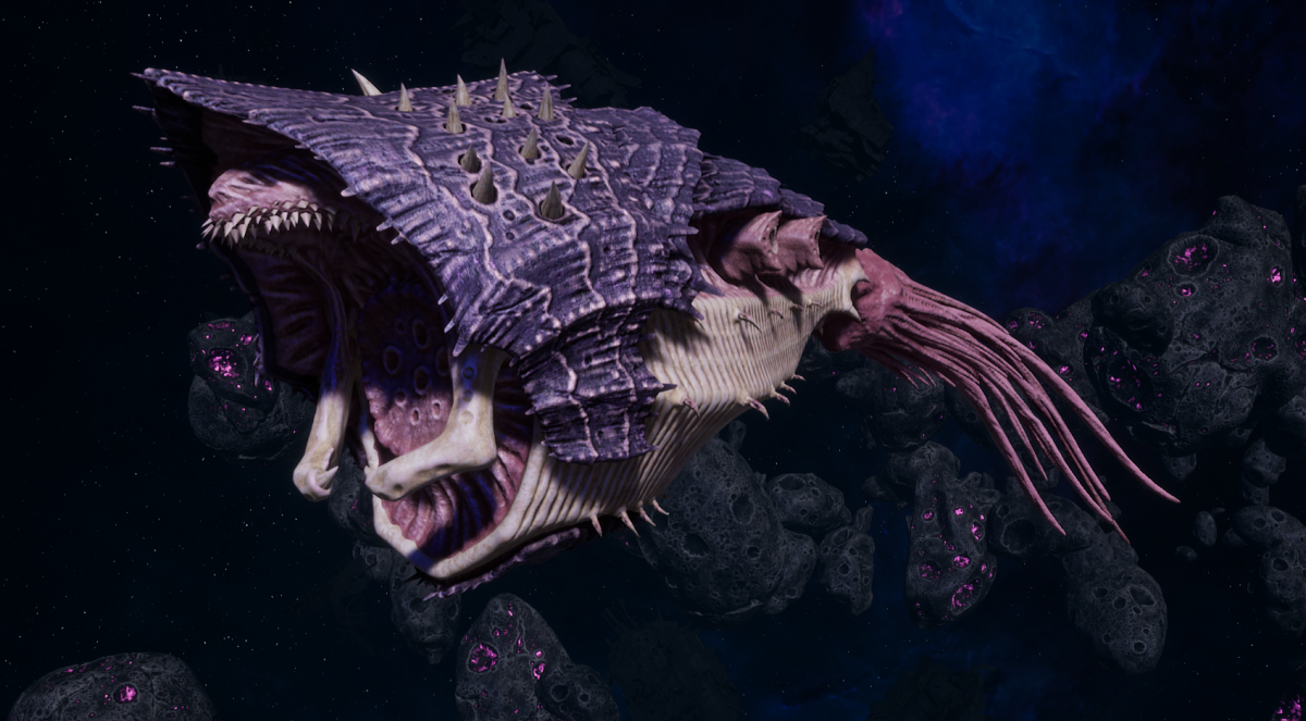 "Tyranid Light Cruiser - ""Bio Projectile Voidprowler"" - [Leviathan Sub-Faction]"