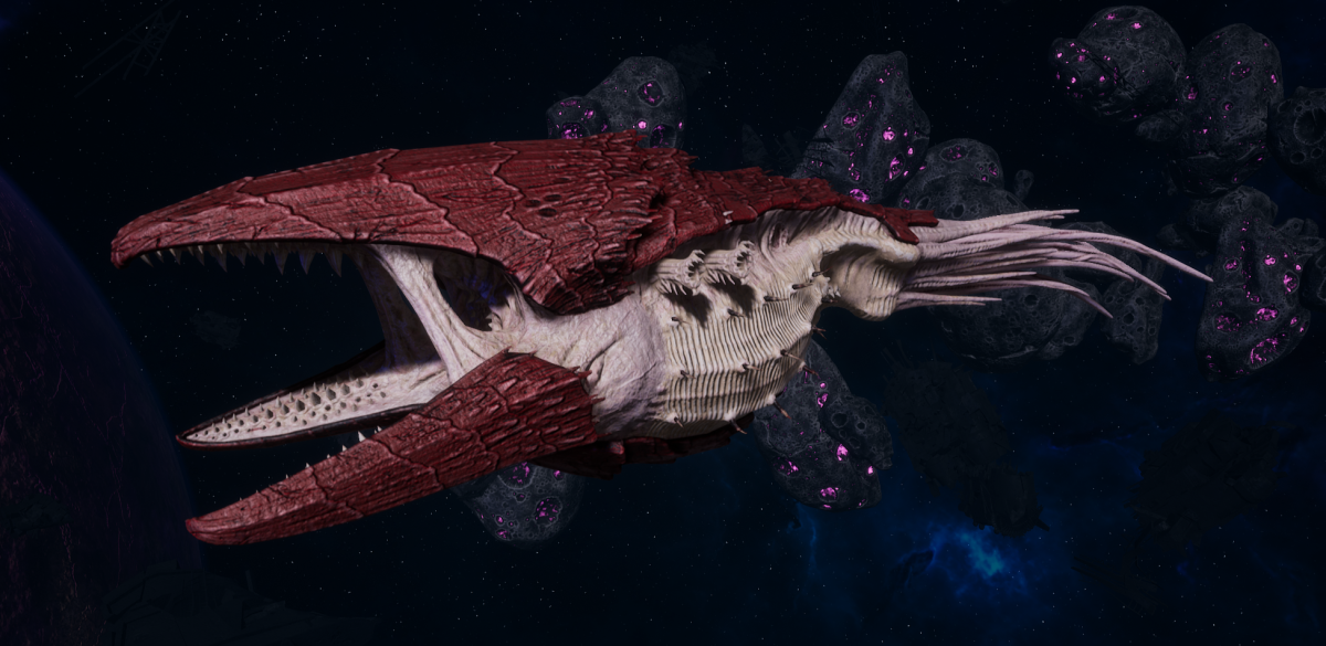 "Tyranid Battle Cruiser - ""Corrosive Clutch Devourer"" - [Kraken Sub-Faction]"