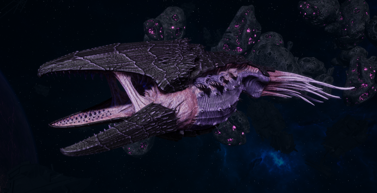 "Tyranid Battle Cruiser - ""Devourer"" - [Hydra Sub-Faction]"