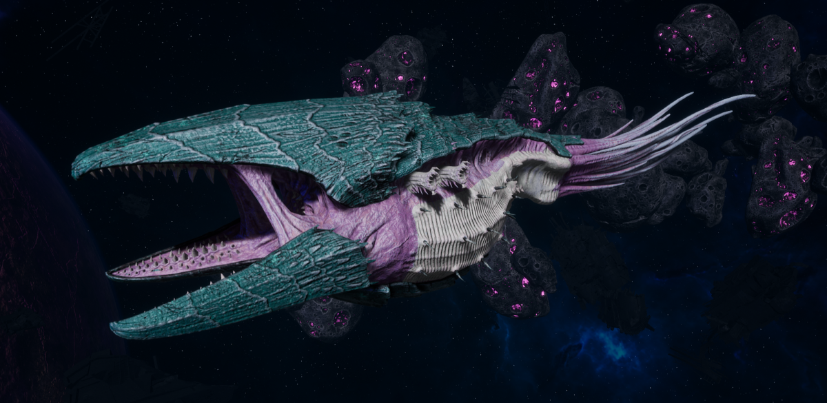 "Tyranid Battle Cruiser - ""Corrosive Clutch Devourer"" - [Tiamet Sub-Faction]"