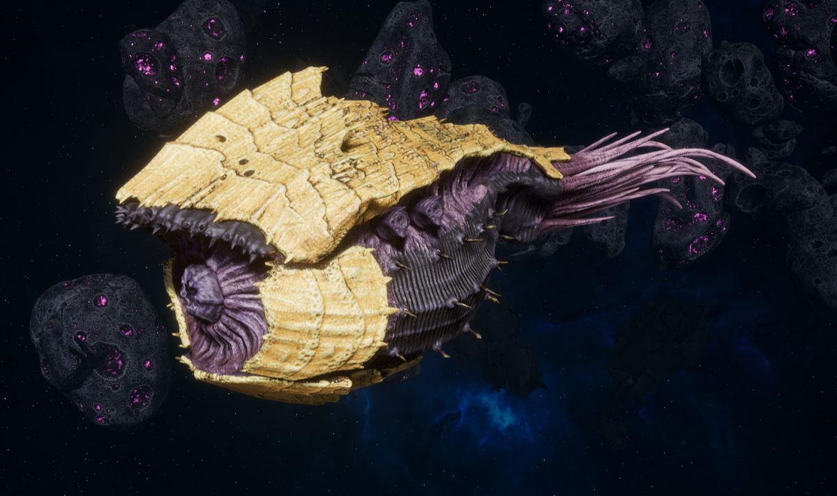 "Tyranid Battle Cruiser - ""Bio Tentacles Devourer"" - [Jormungandr Sub-Faction]"