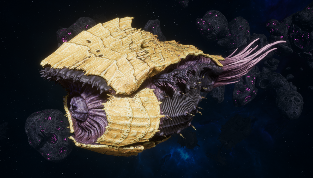 "Tyranid Battle Cruiser - ""Corrosive Tentacles Devourer"" - [Jormungandr Sub-Faction]"