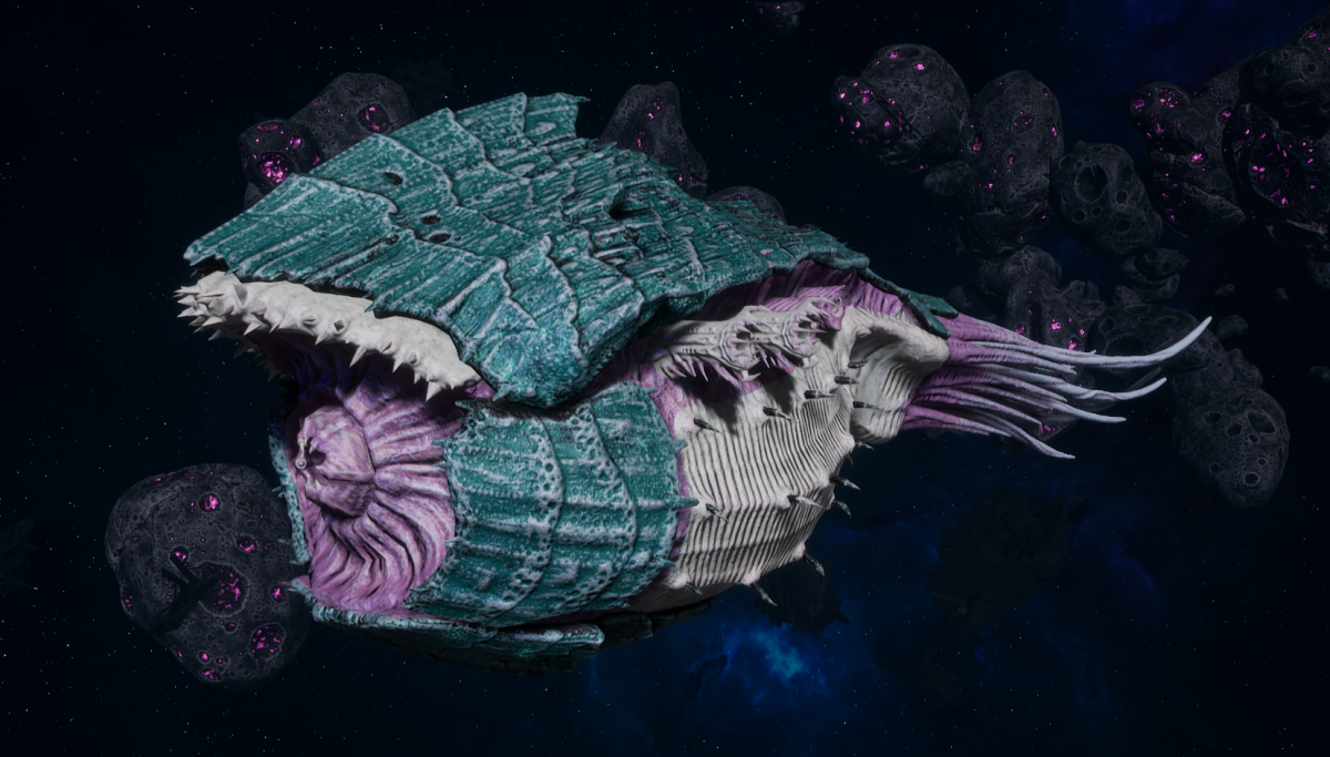 "Tyranid Battle Cruiser - ""Corrosive Tentacles Devourer"" - [Tiamet Sub-Faction]"