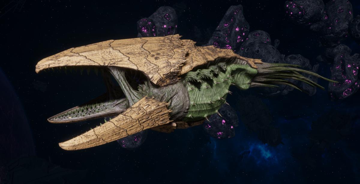 """Tyranid Battle Cruiser - """"Devourer"""" - [Gorgon Sub-Faction]"""