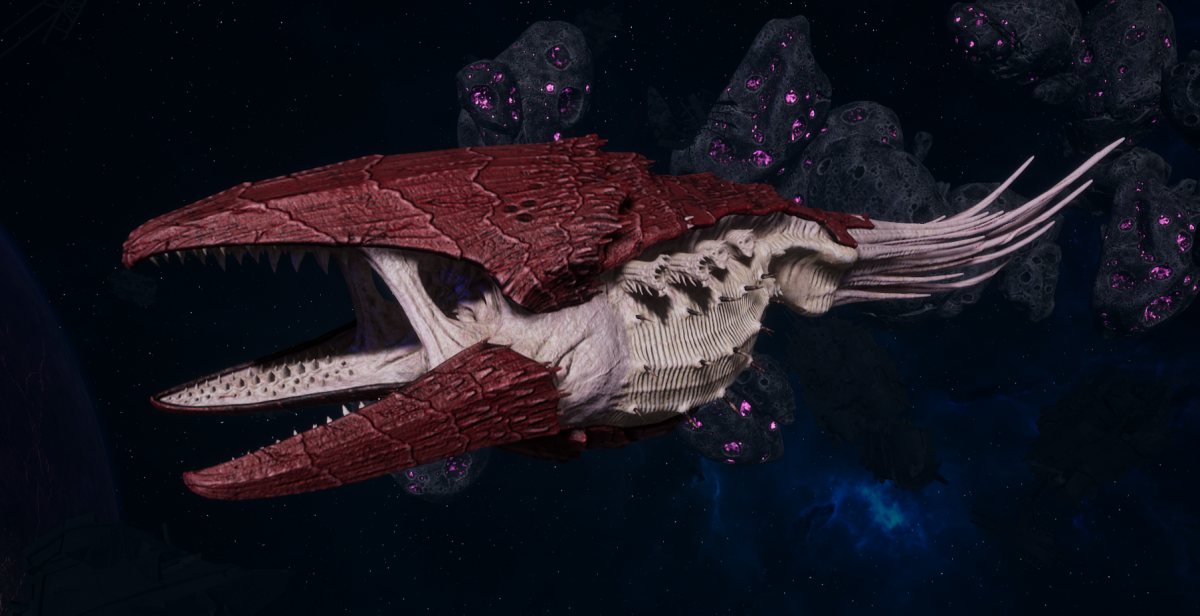 "Tyranid Battle Cruiser - ""Devourer"" - [Kraken Sub-Faction]"