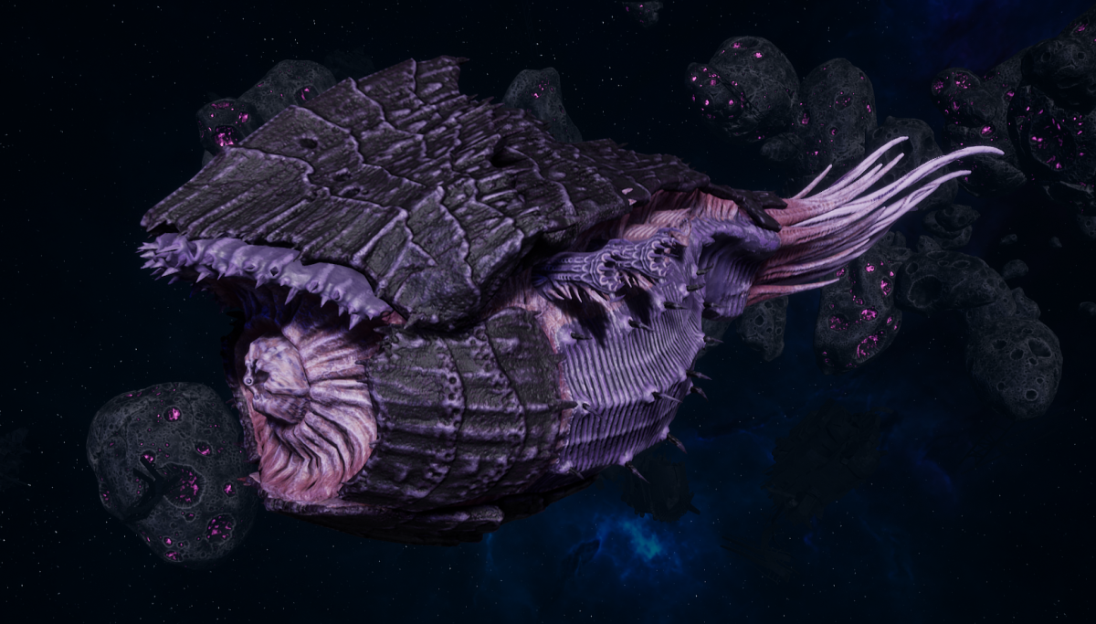"Tyranid Battle Cruiser - ""Corrosive Tentacles Devourer"" - [Hydra Sub-Faction]"