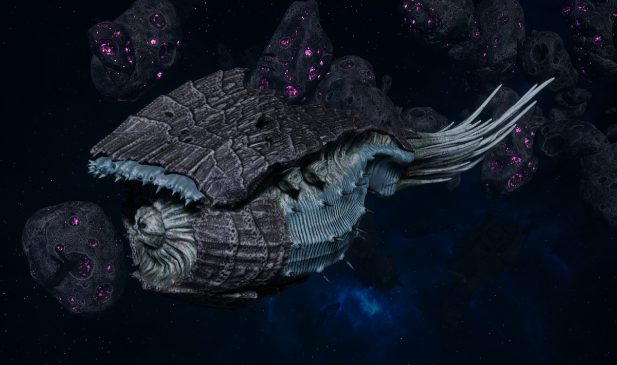 "Tyranid Battle Cruiser - ""Bio Tentacles Devourer"" - [Ourobris Sub-Faction]"
