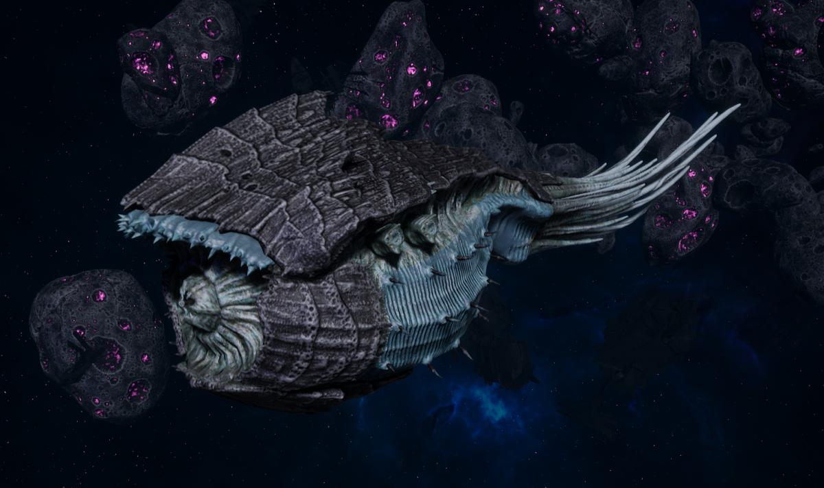 "Tyranid Battle Cruiser - ""Bio Tentacles Devourer"" - [Ourobris Sub-Faction]"