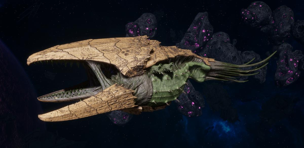 "Tyranid Battle Cruiser - ""Corrosive Clutch Devourer"" - [Gorgon Sub-Faction]"
