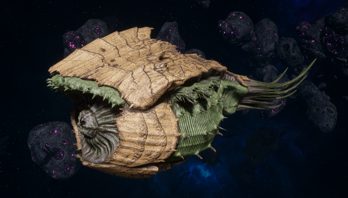 "Tyranid Battle Cruiser - ""Corrosive Tentacles Devourer"" - [Gorgon Sub-Faction]"