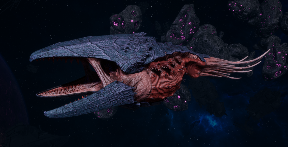 "Tyranid Battle Cruiser - ""Devourer"" - [Behemoth Sub-Faction]"