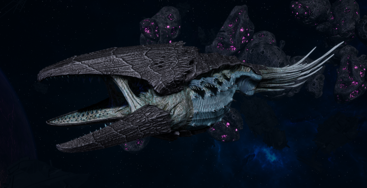 "Tyranid Battle Cruiser - ""Devourer"" - [Ouroboris Sub-Faction]"