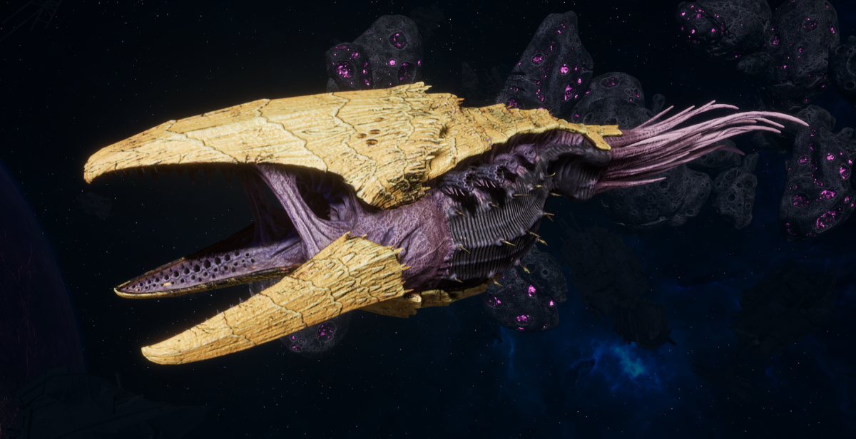 "Tyranid Battle Cruiser - ""Devourer"" - [Jormungandr Sub-Faction]"