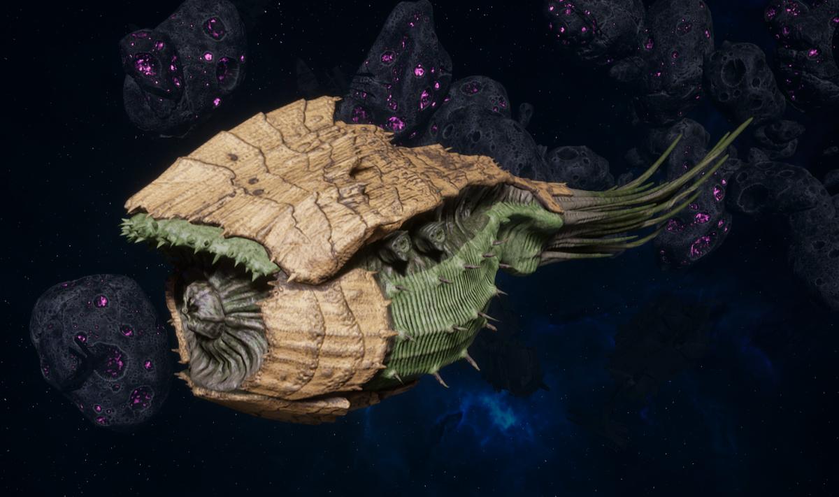 "Tyranid Battle Cruiser - ""Bio Tentacles Devourer"" - [Gorgon Sub-Faction]"