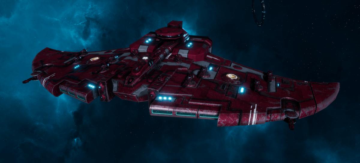 "Tau Protector Fleet Cruiser - Lar'Shi'Vre ""Protector"" Vior'La - [Farsight Enclave Sub-Faction]"