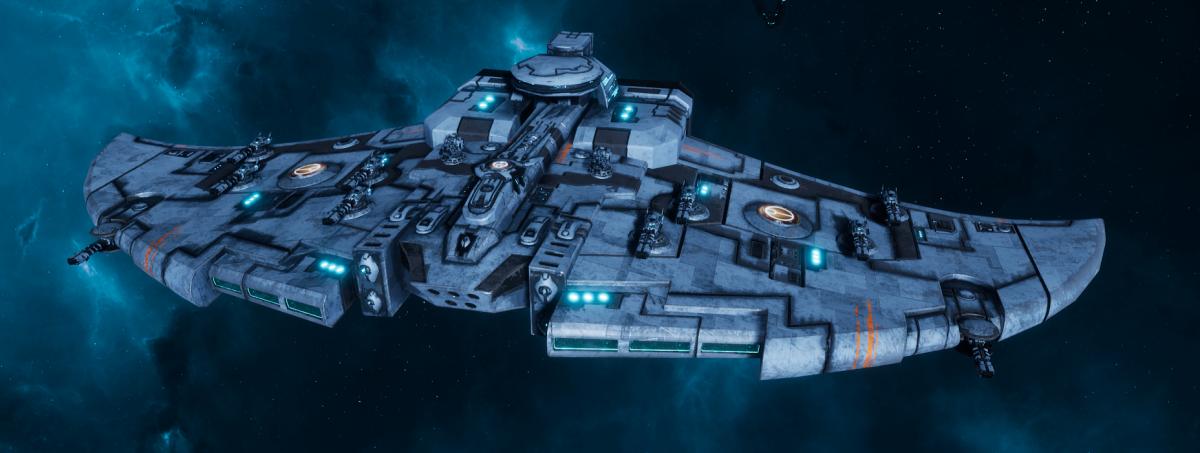 "Tau Protector Fleet Cruiser - Lar'Shi'Vre ""Protector"" Vior'La - [Sa'cea Sub-Faction]"
