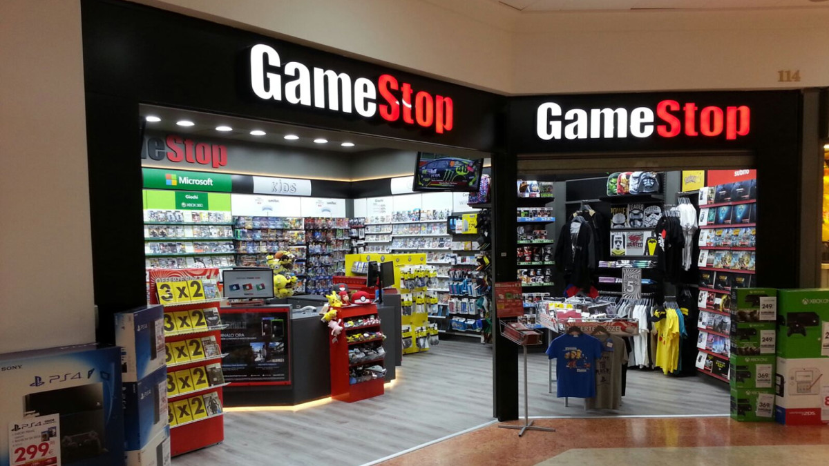 Game Stop, the most hated used game store among gamers, but you can still get games here.